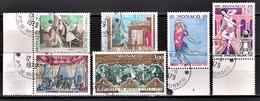 MONACO 1979 - SERIE N° 1190 A 1195  - 6 TP OBLITERES - Monaco