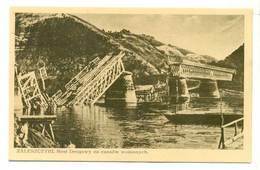 Ukraina Zaleszczyki Obw Tarnopol Most Drogowy Ok 1930 R - Ukraine