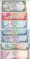 YEMEN 1 5 10 20 50 100 200 RIAL 1983 1996 P 16B 17 19 24 25 27 28 29 UNC SET LOT - Yemen