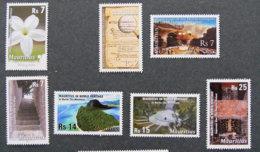 ILE MAURICE - MAURITIUS - 2010 - YT 1123 à 1129 ** - FLEUR / CONQUETE BRITANNIQUE / PATRIMOINE MONDIAL - Mauritius (1968-...)