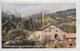 """AK 0228  Österreichisches Grenzwirtshaus """" Walserschanz """" - Verlag Glink Um 1935 - Hotels & Gaststätten"""