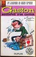 EO Gag De Poche #26 > Franquin & Jidéhem : GASTON - BIOGRAPHIE D'UN GAFFEUR - Gaston