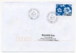 "POLYNESIE FRANCAISE - Enveloppe Affr. Pareo Oblitérée ""FARE-HUAHINE / ILES SOUS LE VENT"" 30-12-2011 - French Polynesia"