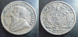 Zuid Afrikaanche Republiek AFRIQUE Du SUD Imitation Forgery 1 Pond 1896  Kruger Sovereign Token - Jetons En Medailles