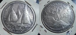 SPORT Jeux Olympiques KIEL 1972 Médaille Argent Silber Voile Sports Nautiques Nautisme - Deutschland