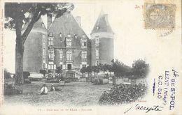 Haute Garonne: Château De St Saint-Félix, Façade - Cliché Trantoul - Carte Labouche Frères, Dos Simple N° 77 - Other Municipalities