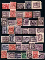 TASMANIA • Selection Of A To Z CDS Postmarks On Pictorials (40+) - 1853-1912 Tasmania