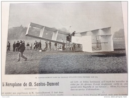 1906 L'AÉROPLANE DE SANTOS DUMONT - MEETING MONT VENTOUX - MOTOCYCLETTE À HÉLICE - PISCICULTURE - YEARLING À DEAUVILLE - Livres, BD, Revues