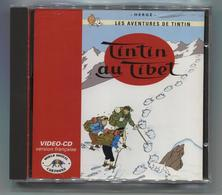 TINTIN  AU  TIBET  /  VIDEO  CD - Autres Collections