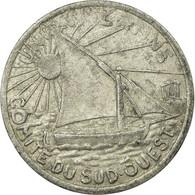 Monnaie, France, Union Latine, Comité Du Sud-Ouest, Toulouse, 10 Centimes - Monétaires / De Nécessité