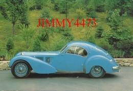 "CPA - 1936 BUGATTI 57 SC - ELECTRON "" Atlantic "" - Carrosserie Jean Bugatti ( Carte Taille CPM 104 X 148 ) - Passenger Cars"