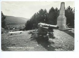Vierves Crète Et Le Monument ( Canon Allemand ) - Viroinval