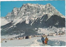 Ehrwald, 1000 M, Tirol, Mit Zugspitzmassiv  - (Austria) - Ehrwald