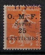 SYRIE         N° YVERT  :    85   (1)   OBLITERE             (Ob 03/52 ) - Syrien (1919-1945)