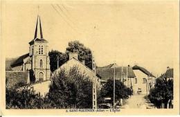 03 SAINT MARTINIEN -  L 'EGLISE - France