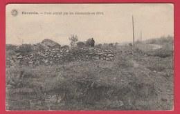 Haversin ( Ciney ) - Pont Détruit Par Les Allemands En 1914 - 1931 ( Voir Verso ) - Ciney