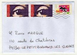 Enveloppe FRANCE Oblitération LA POSTE 26479A-01 29/04/2019 - Poststempel (Briefe)