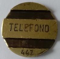 Jeton De Téléphone - Telefono 447 - Espagne - - Professionnels/De Société