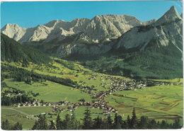 Zugspitzdorf  Ehrwald I. Tirol 1000 M Mit Mieminger Berge Und Sonnenspitze   - (Austria) - Ehrwald