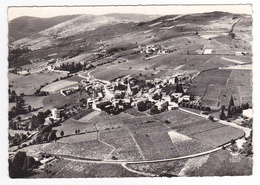 69 En Avion Au Dessus Des Vignes De Juliénas En 1958 N°1 Vins Classés Meilleurs Crus Du Beaujolais - Julienas