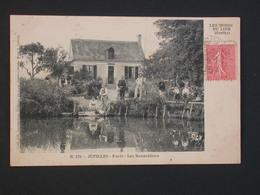 Ref5803 CPA Animée De Jupilles (Sarthe) Foret Les Renardières N°176 Les Bords Du Loir Coll. Laurentine Lelong 1904 - Autres Communes