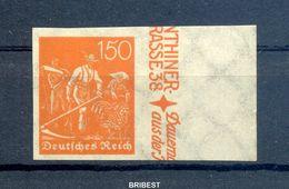 DEUTSCHES REICH 1921 Nr 189U Postfrisch (150.-) (97858) - Ohne Zuordnung