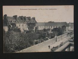 Ref5805 CPA Animée De Lambezellec (Finistère) Pensionnat Saint Joseph - France
