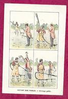 CHROMO..Etablissements HAUTON à SAINT NAZAIRE (44)...Histoire Sans Paroles. Arrosage Public...2 Scans - Chromos