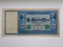 Germany, Empire. 100 Mark. 1910. Condition - Photo. 1-90 - [ 2] 1871-1918 : German Empire