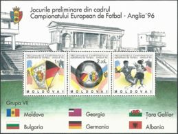 MOLDAWIEN 1994 Mi-Nr. Block 5 ** MNH - Moldawien (Moldau)