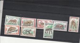 Congo Yvert 318 à 325 ** Sans Charnière - Animaux - Congo - Brazzaville