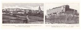 1924 - Iconographie - Saint-Félix-Lauragais (Haute-Garonne) - Vues - FRANCO DE PORT - Vieux Papiers