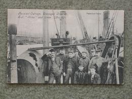 RUSSIAN OUTRAGE - DAMAGED TRAWLER SJ MINO+CREW - Fishing Boats