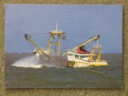 TRAWLER AT SEA - Fishing Boats