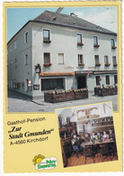 Kirchdorf A.d. Krems - Gasthof-Pension 'Zur Stadt Gmunden'. Hauptplatz 11 - (O.Ö.,Austria) - Kremsmünster