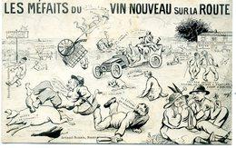 44 - NANTES - Méfaits Du Vin Nouveau Sur La Route. - Nantes