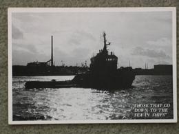 TUG AT TILBURY - Tugboats