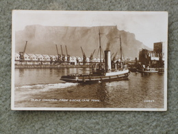 TUG/DOCKS/TABLE MOUNTAIN, CAPE TOWN RP - Tugboats