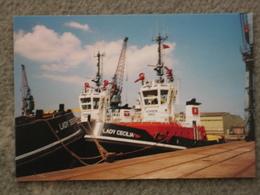 LADY CECILIA/DEBBIE TUGS AT IMMINGHAM - Tugboats
