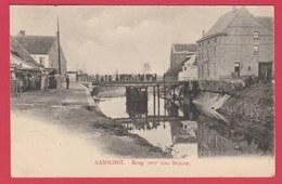 Aarschot - Brug Over Den Demer - 1902 ( Verso Zien ) - Aarschot