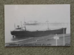 ATHINA B GROUNDED IN BRIGHTON 1980 B+W - Cargos