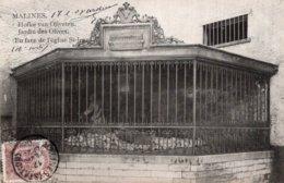 CPA   BELGIQUE---MALINES---JARDIN DES OLIVES ( EN FACE DE L'EGLISE ST-JEAN )---1908 - Mechelen