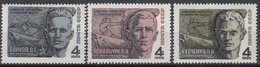 USSR - Michel - 1968 - Nr 3455/57 - MNH** - Ongebruikt