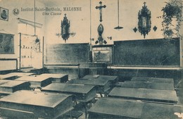 CPA - Belgique - Institut Saint-Berthuin - Malonne - Une Classe - Namur