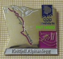 JO LILLEHAMMER 94  SKI ALPIN à Kvitfjell 1994 - Olympische Spelen