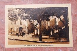 MANOSQUE (04) - PLACE DU CONTROLE - Manosque