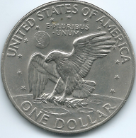 United States - 1972 - 1 Dollar - KM203 - Emissioni Federali