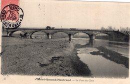 2860 Cpa Saint Amand Montrond - Le Pont Du Cher - Saint-Amand-Montrond