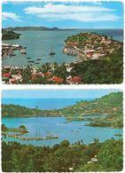 LOT DE 2 CP - GRENADA - St. George's Harbour - Grenada