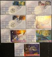 Nations Unies FDC - Premier Jour - Lot De 7 FDC - Thématique Ère Spatiale - 2007 - Briefmarken
